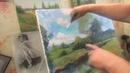 Игорь Сахаров, лесной пейзаж маслом, уроки для начинающих художников 1