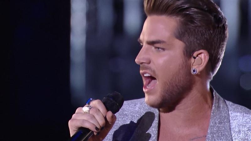Adam Lambert Performs 'Ghost Town' Trailblazer Honors