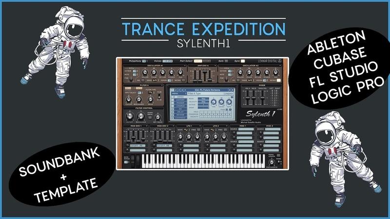 Trance Expedition Sylenth1 Soundbank BIG template for Ableton Cubase Logic Pro FL Studio