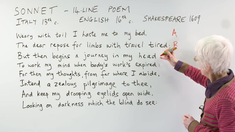 English Poetry - Learn about THE SONNET