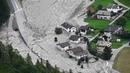 Оползень в Швейцарии: восьмерых туристов продолжают искать (новости)