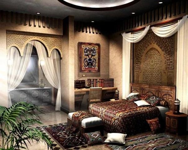 arabian style living room - 850×678