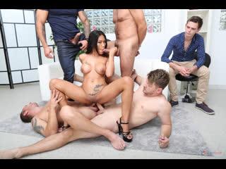 Cuckold Dream with Polly Pons, 4on1 Balls Deep Anal, DAP, Gapes and Facial - Rough Sex Gangbang Asian Deepthroat Cum Porn, Порно