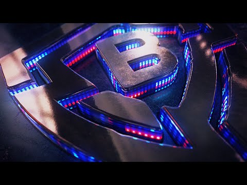 Element 3D LED Text Reveal I After Effects 2020 I Tutorial I FREE Project file