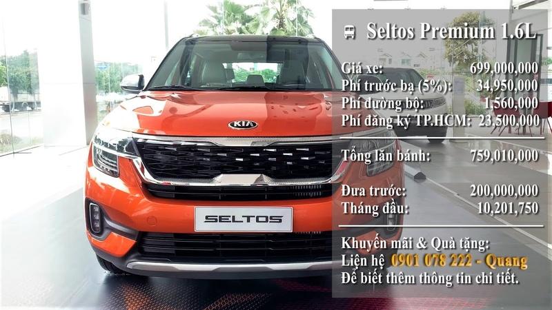 KIA Seltos 2020 Số tự động Màu Cam. Đưa trước 200 Triệu nhận xe KIA Seltos 2020 đủ màu giao