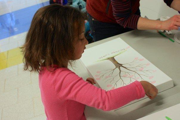Рисуем четыре времени года пальчиками. Забавные поделки с детьми