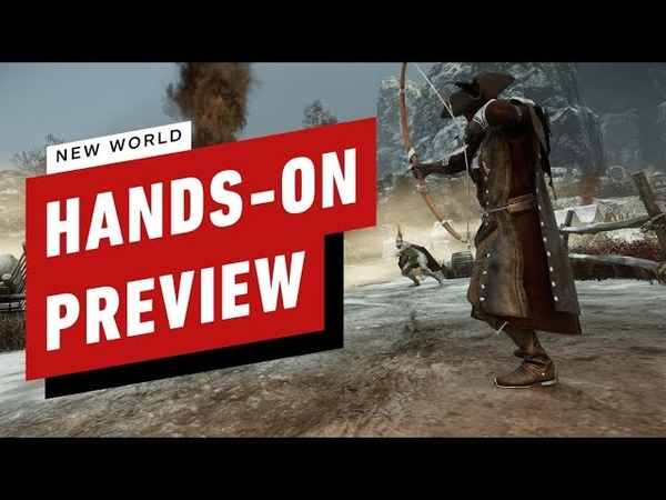 New World Hands On With Amazon's Open World MMORPG