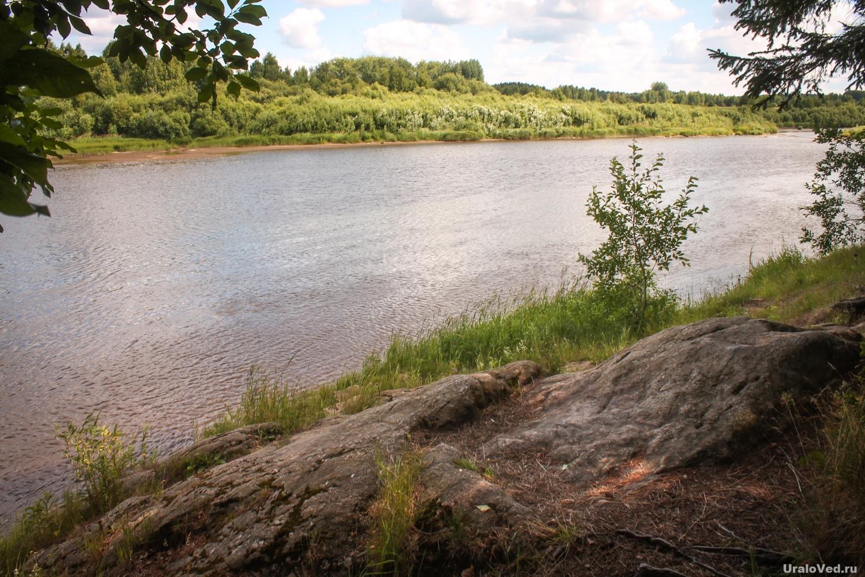 Симеонов камень на реке Туре