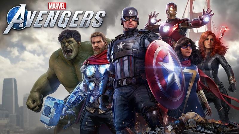 Финал Marvel's Avengers Часть 13 Мстители общий сбор