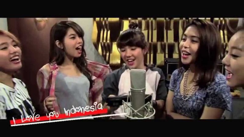 S.O.S - I LOVE YOU INDONESIA ( Official Lyric Video ) | Beautiful Sexy Girl band