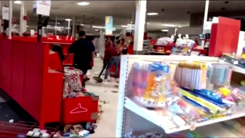 Minneapolis Target looted as protests turn more violent