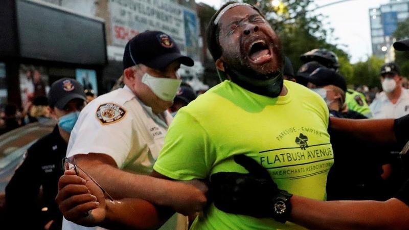 Массовые смерти тысячи арестованных сотни пострадавших Погромы в США выходят на новый уровень