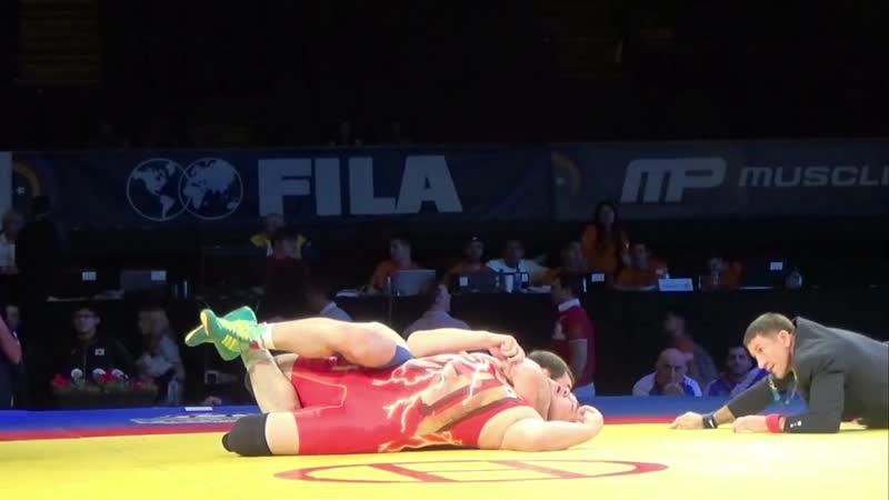 97 KG Yuri Belonovskiy Russia vs Koki Yamamoto Japan