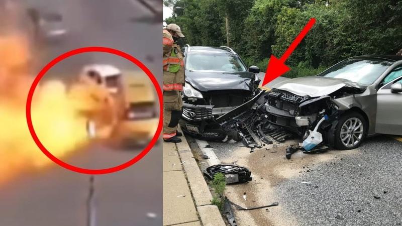 Car Crash Caught On Camera 🙏 Ajeeb Ghatna Jo CCTV Camera Mein Huyi Kaid Pt 15 Shorts