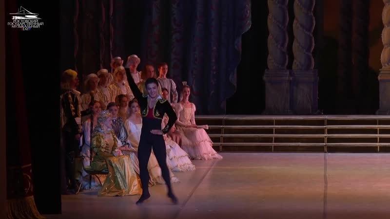 Фрагмент из балета Дон Кихот. Бахтияр Адамжан