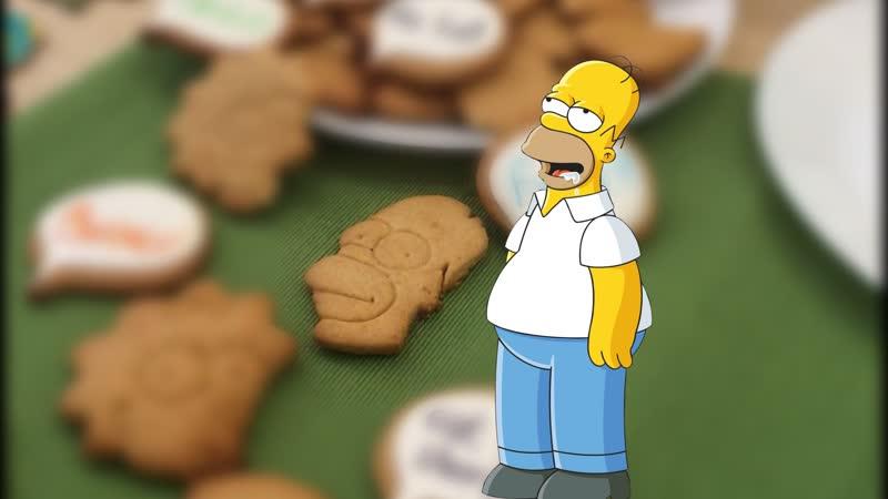Печатаем формочки для печенья Симпсоны