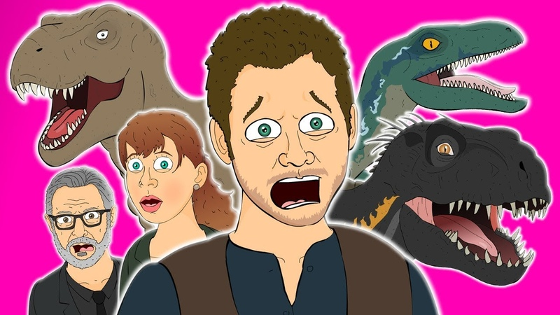 ♪ JURASSIC WORLD FALLEN KINGDOM THE MUSICAL Animated Parody Song
