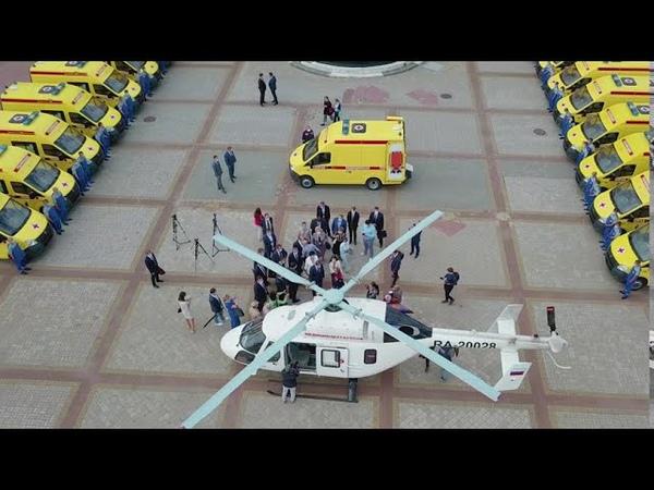 Нижегородские медики получили 27 новых автомобилей скорой помощи