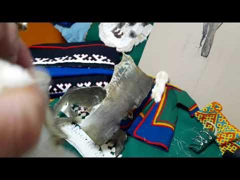Мастер класс Оксаны Яр мастерицы из п Тазовский по обработке и выделке кожи налима
