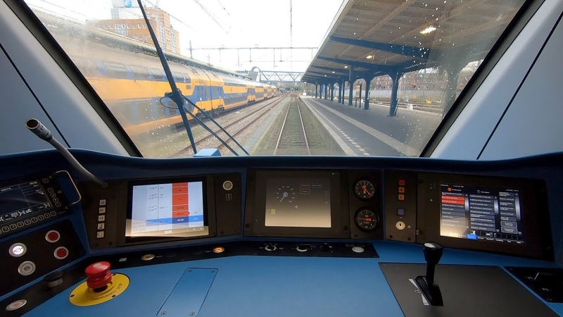 Timtim Routelint TRAIN DRIVER's POV Groningen Zwolle SNG 22jan 2020