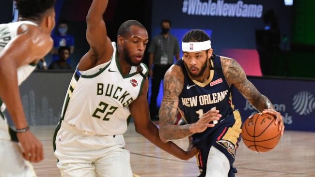 Контрольный матч НБА  Милуоки Бакс — Нью-Орлеан Пеликанс 28.07.2020