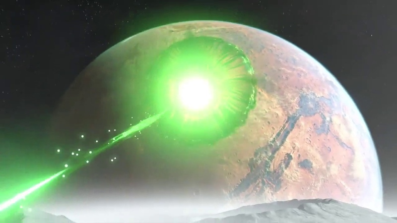 You can`t just shoot a hole into the surface of Mars Russaian Version