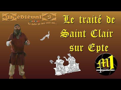 Le traité de Saint Clair sur Epte