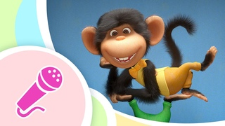 TaDaBoom песенки 💥 Пять Обезьянок 🐵🍌 Five Little Monkeys 🎵 Караоке для детей 🎤 Маша и Медведь
