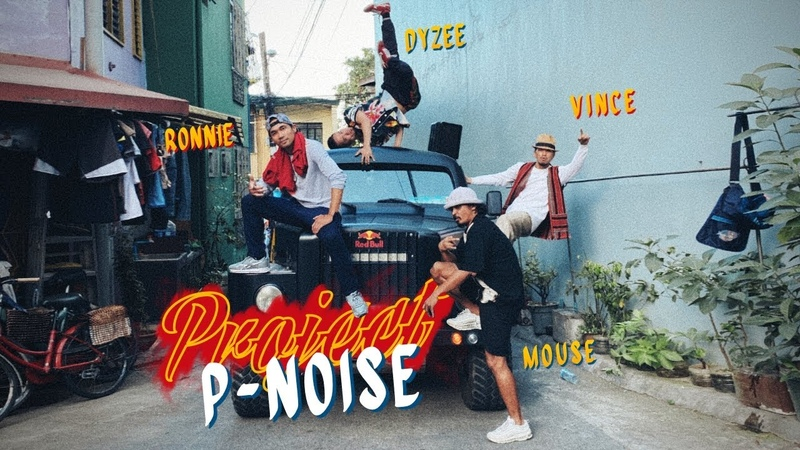 PROJECT P-NOISE in Manila Philippines ft. Bboy Ronnie, Bboy Mouse, Dyzee and Vince   YAK x DJ FLEG
