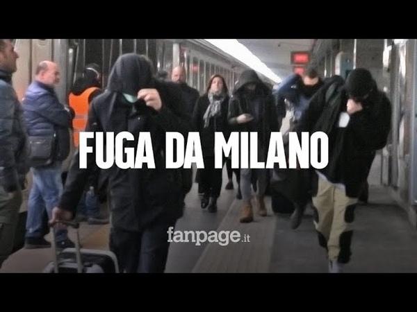 Coronavirus in fuga da Milano col treno arrivano a Napoli senza alcun controllo medico
