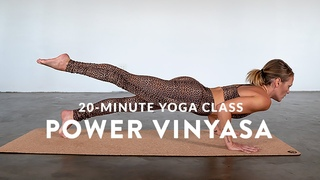 FREE YOGA CLASS - Short, Sweet and Sweaty 💦 Power Vinyasa Flow (Full Class)