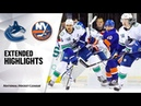 Vancouver Canucks vs New York Islanders   Feb.01, 2020   Game Highlights   NHL 2019/20   Обзор матча