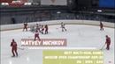 Matvei Michkov Best multi goal games Open Moscow Championship 2019 20 U16 2004 AAA