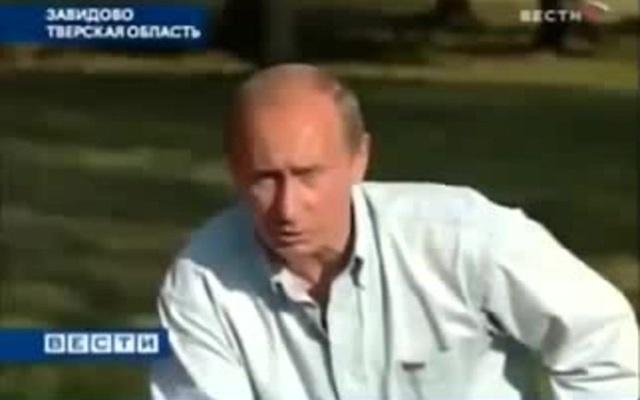 путин: Мозги им надо поменять, а не Конституцию   2007 год Завидово · coub, коуб