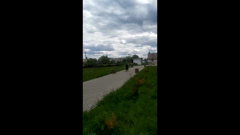 Видео Веломарафон к памятнику Сароян Гор