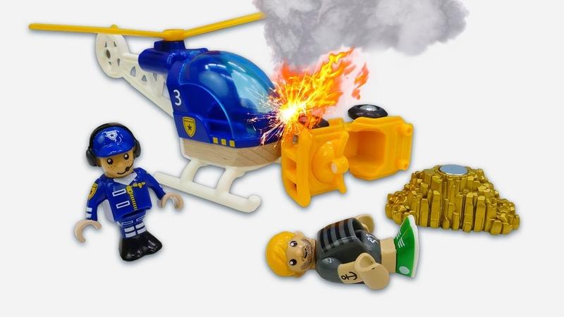 Spielzeug Video für Kinder Die BRIO Stadt Wer hat das Gold geklaut