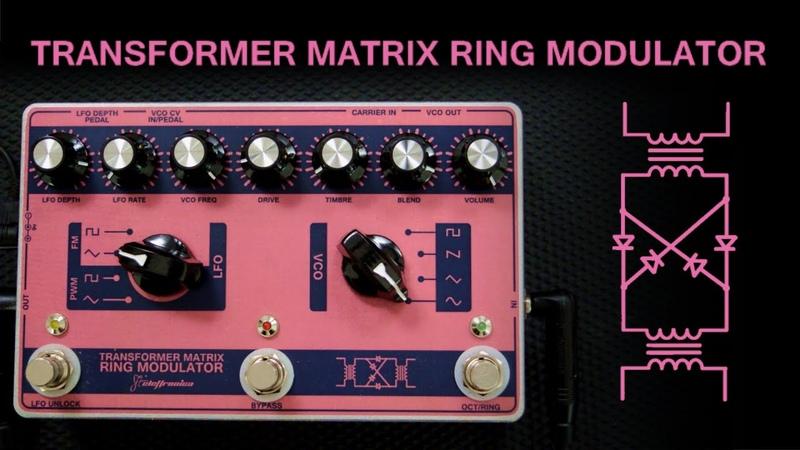 Transformer Matrix Ring Modulator played by Francesco Mascio