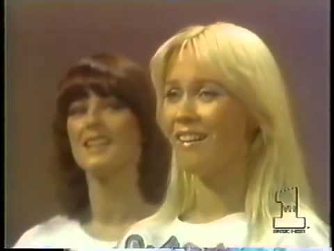 Agnetha turning her back to the Camera YouTube