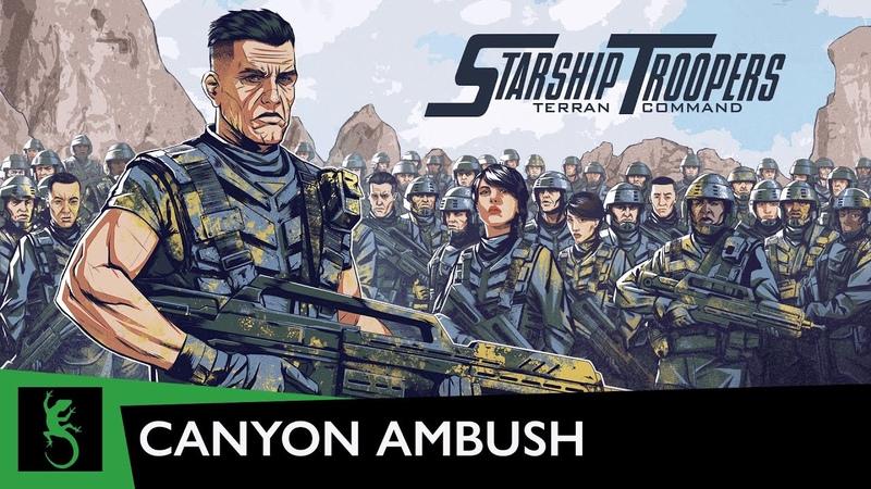 Starship Troopers Terran Command Canyon ambush