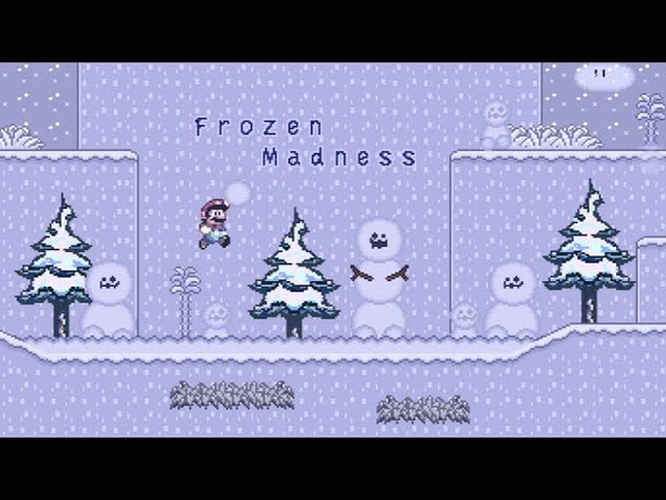 SMBX Custom Level Frozen Madness