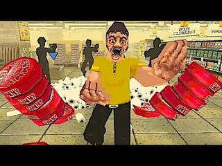 NIGHT OF THE CONSUMERS Intense PS1 Styled Retail Horror Game Where Shoppers are VERY Persistent