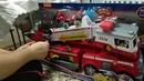 распаковка Пожарной машины PAW PATROL Обзор Щенячий Патруль ultimate fire truck rescue