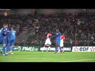 Первый гол в матче 1/16 финала Кубка Франции