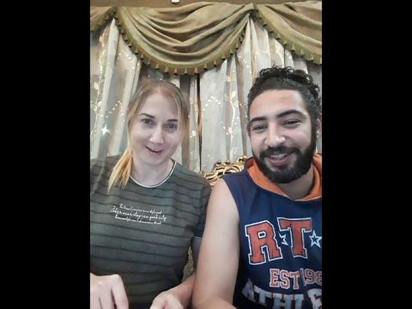 تعلم اللغه الروسيه مع محمود وجينيا