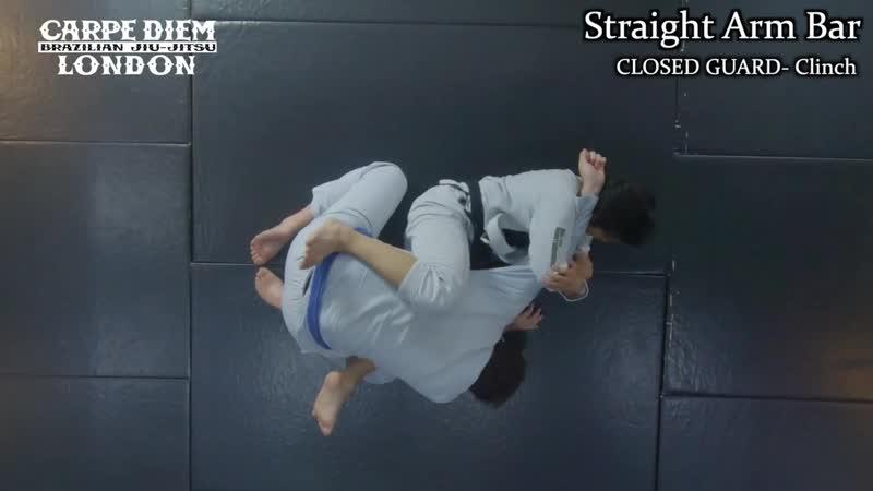 White Belt Programme Episode 1 Straight Armlock Kimura Lock Hip Bump Sweep ¦ Closed Guard