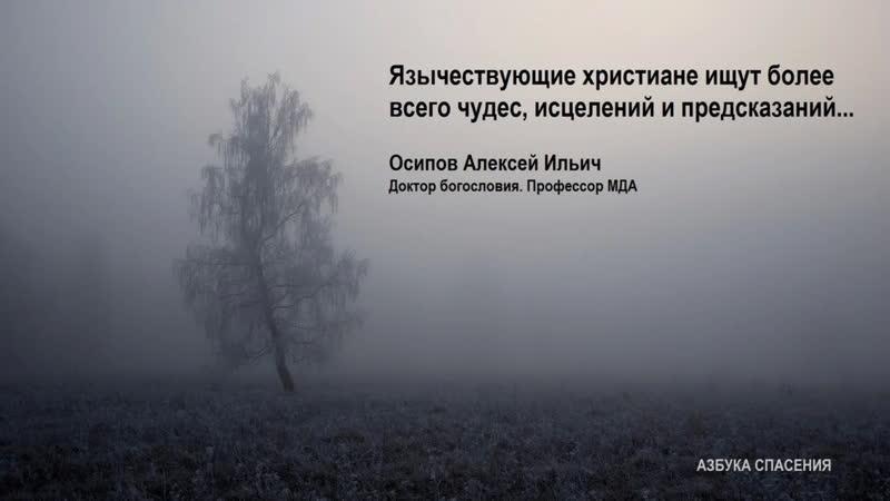 О язычестве в Православии Осипов Алексей Ильич