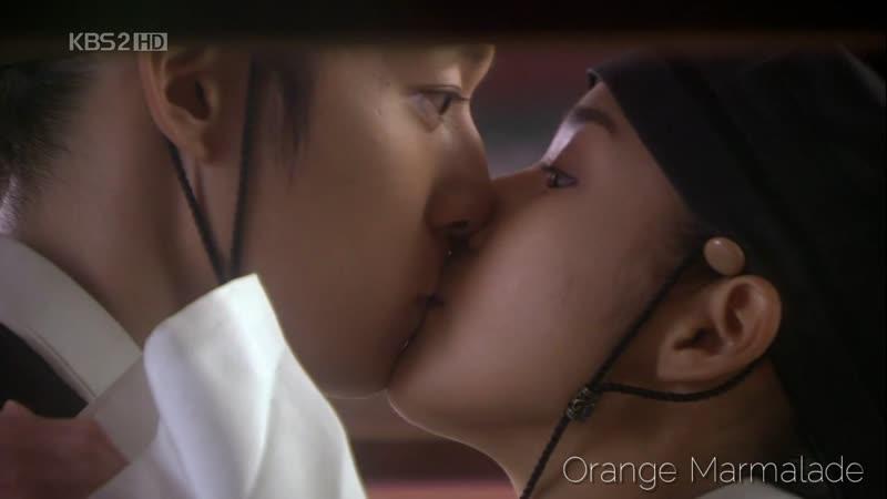 Отрывок из дорамы «Скандал в Сонгюнгване» (Поцелуй) 16 серия. Озвучка GREEN TEA