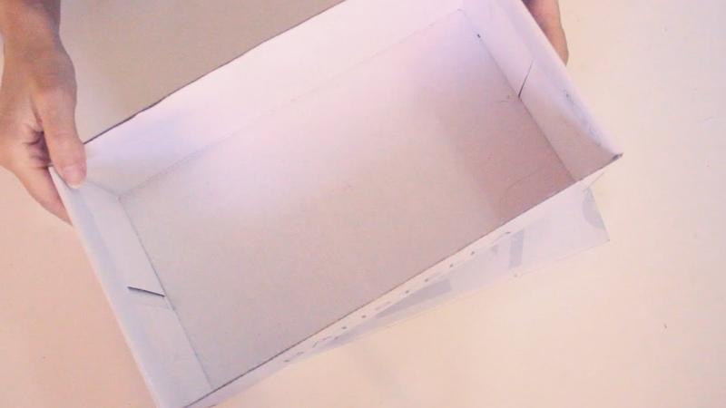 ♻Reutiliza las cajas de zapatos 🌼 Cajas decoradas con poco dinero 😘Manualidades fáciles DIY
