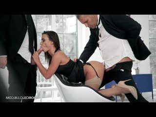 DorcelClub Lana Roy Closing The Deal- Dorcel Club Slut Busty Hottie Cumshot порно ебет