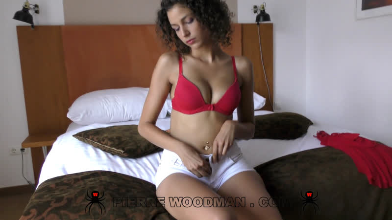 WoodmanCastingX Bunny Love - MY FIRST DP WAS WITH 4 MEN